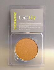 LimeLily Makeup, SHIMMER Eyeshadow - Palette Refill 37mm, GOLDMINE - Gold