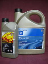 6 LITROS GM GENUINO MOTOR OIL 5w30 dexos-2™ combustible Economy Longlife/OPEL /