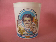 Houston Oilers Rafael Septien #1 7 Eleven Big Gulp 32 oz Plastic Cup 1980