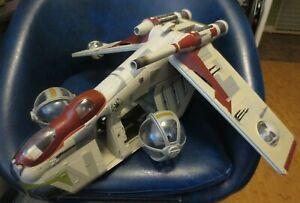 STAR WARS Clone Wars REPUBLIC GUNSHIP  2009
