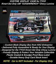 Custom Display Case TYCO #3 Earnhardt GOODWRENCH Lumina w Air Dam  Kmart Set Car
