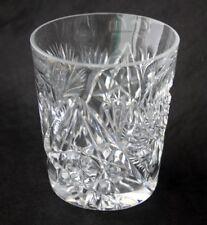 ABP Cut Glass Pinwheel Hob Star DOF Tumblers