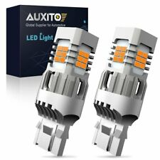 AUXITO Amber Yellow 7440 W21W LED Turn Signal Light Bulb No Hyper Flash Canbus