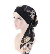 Muslim Women's Chemo Cap Hair Loss Turban Hat Head Scarf Wrap Bandana Hijab