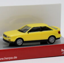 Herpa PKW Audi Coupe gelb 420341