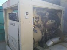 Kohler 350 Kw Generator Powered By Detroit 8v92t Silver 348 Original Hours