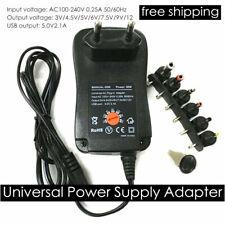 Ac To Dc Adjustable Voltage Power Supply Adapter 3v 45v 5v 6v 75v 9v 12v Cs