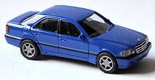 Mercedes Benz Clase C Sedán W203 2000-07 Azul 1:87 Herpa
