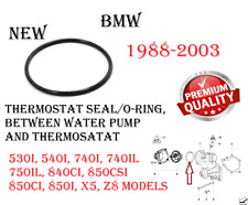 Engine Cooling Thermostat Seal O-ring For BMW 530i,540i,740i,740il,840Ci,850i,X5
