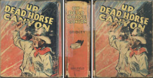 1940 Saalfield Little Big Book: UP DEAD HORSE CANYON. 150+ illustrations
