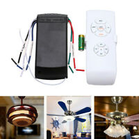 Wireless Remote Control Receiver Kit,Universal Ceiling Fan Lamp Light Timing 1Pc