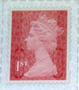 NEW 2021 M21L 1st class SBP2i SINGLE PAIR FROM MACHIN DEFINITIVE COUNTER SHEET