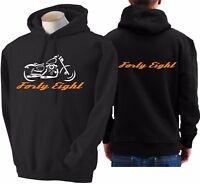 Felpa per moto Harley Davidson forty eight 48 hoodie sweatshirt bike hoody