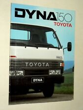 Prospectus CAMION TOYOTA  DYNA 150  Camion Truck LKW Prospekt Brochure