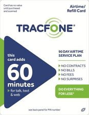 TracFone 60 Refill -- 60 Minutes/90 Days  NEW 90 days added new