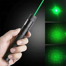 Green Light 303Laserpointer Einstellbarer Fokus Wiederaufladbares Strahllicht DE