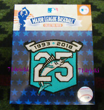 Official MLB 1993 2018 Florida Miami Marlins 25th Anniversary Collectible Patch