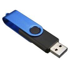 16GB USB 2.0 Speicherstick Drehbar Blau&schwarz X6X5