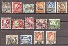 Kenya Uganda Tanganyika 1954 SG 167/80, 80a MINT Cat £195