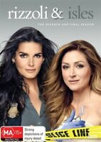 Rizzoli And Isles The Seventh Season 7 Seven FINAL DVD NEW Region 4