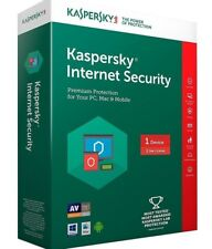 Kaspersky Internet Security 2018 1 User,1 Year PC/MAC/Android- Last Version