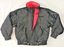 VTG Descente 80's 90's Shiny Metallic Gray & Pink Ski Jacket Made In Japan Sz M