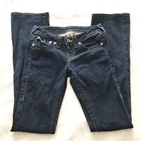 True Religion Bootcut Jeans Womens Size 25 Medium Wash Denim