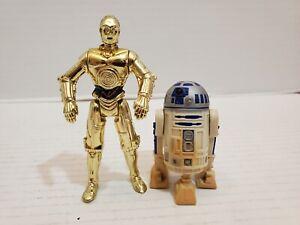 Star Wars R2D2 C3PO Action Figures Protocol and Astromech Droids
