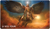 Magic the Gathering Star City Games Tour Playmat - Star-Crowned Angel (SCG) MTG