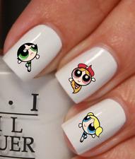 filles bouffées de puissance Autocollant Stickers ongles nail art manucure