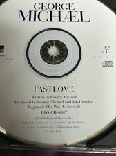 George Michael Fastlove PROMO American EDIT  Rare Cd Maxi Jewel