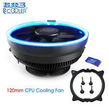 PCCOOLER 120mm LED Cooling Fan CPU Cooler For Intel LGA775/115X AMD AM2+/AM3/AM4
