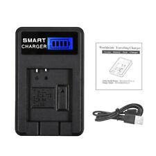 For OLYMPUS Li-50B/70B/90B/BKI/D-Li92 Camera Battery Charger Black Compact 5V