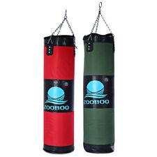New Boxing Bag High Quality 100cm Boxing Sandbags Striking Drop Hollow Empty San