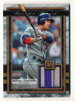 MICHAEL CONFORTO 2020 TOPPS MUSEUM COLLECTION MEANINGFUL MATERIAL PATCH #09/35