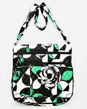 NWOT VERA BRADLEY Triple Zip Crossbody 15711 Handbag in Imperial Rose $58