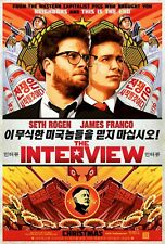 The Interview (DVD, 2015) Brand New Sealed