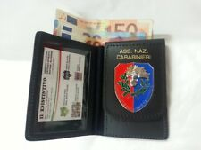 WALLET CARD HOLDER ASSOCIATION NATIONAL CARABINIERI ID CARDS GIFT