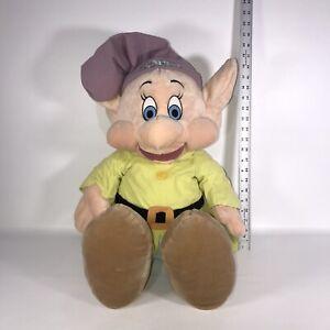 "Dopey Plush Disney Store 25"" Snow White and the Seven Dwarfs Stuffed Animal"