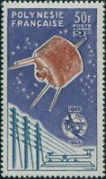 French Polynesia 1965 Sc#C33,SG44 50f Communications MNH