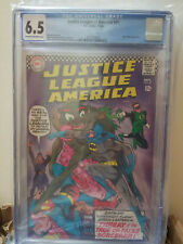 JUSTICE LEAGUE OF AMERICA #49 CGC 6.5 (DC Comics 1966) JLA Batman Superman