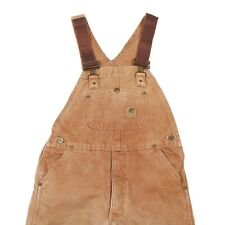 CARHARTT Quilted Chore Overalls | Dungarees Bib Workwear Vintage Canvas Padded