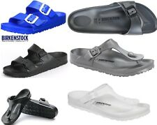 Birkenstock EVA Arizona Gizeh Madrid Black, white, Scuba Blue silver, anthracite