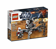 Lego ® set 9488/Star Wars elite Clone Trooper & Commando Droid Battle Pack