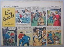 Lone Ranger Sunday Page by Fran Striker and Charles Flanders from 9/10/1939