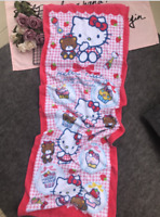 brand new Cute Hello Kitty Candy Soft Cotton Beach Pool Towels Bath Towel