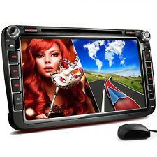 AUTORADIO PASSEND FÜR VW SKODA SEAT MIT NAVI GPS NAVIGATION BLUETOOTH DVD CD