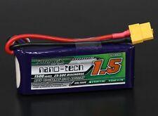 RC Turnigy nano-tech 1500mah 3S 25~50C Lipo Pack