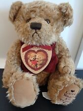 "ZONDERVAN Plush LOVE BEARS ALL THINGS Bear NEW With Scripture Book 11"" Free Ship"