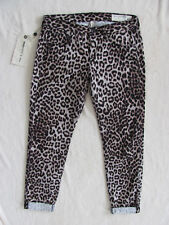 Rag & Bone Boyfriend Jeans - Snow Leopard -Black/Brown- Size 26 - NWT